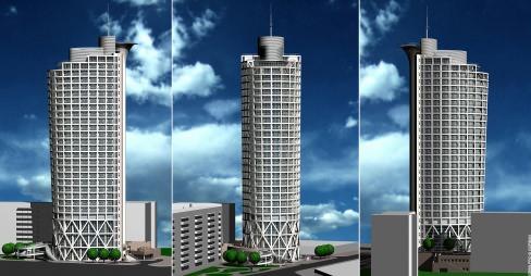 Архітектурное проектирование жилых и общественных зданий.
