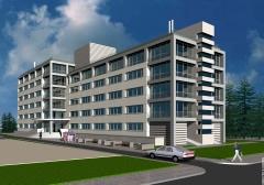 Проект адміністративної будівлі в Святошинському районі м. Києва.