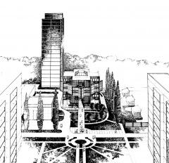 Проект центрального диспетчерського пункту «Академтеплоенерго» в Святошинському районі м. Києва.
