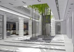 Интерьеры офисного здания.