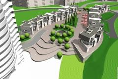 Концептуальное предложение застройки центра города Украинка.